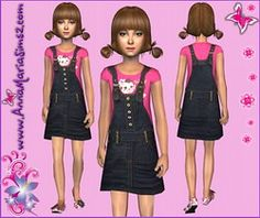 AnnaMariaSims2.com - Free clothes, accesories, sims models and patterns for your Sims 2 and 3 game!
