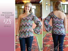 Missoni One Should Top --- Shop more styles at facebook.com/dressmetrendyboutique