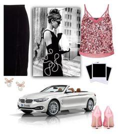 """Untitled #549"" by detroitgurlxx ❤ liked on Polyvore featuring BMW, Tiffany & Co., Miss Selfridge, Miu Miu and Polaroid"