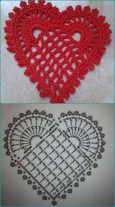 Best 11 crochet freecrochetpatterns crochetpatterns – Page 515099276126849755 – SkillOfKing.Com - Her Crochet Crochet Bookmark Pattern, Crochet Coaster Pattern, Crochet Motif Patterns, Crochet Bookmarks, Granny Square Crochet Pattern, Crochet Diagram, Crochet Designs, Crochet Stitches, Crochet Decoration