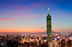 Taipei 101 world's fifth #tallest #building in the #world - Things To Do In…