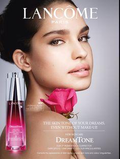 Beauty advertising // Lancôme cosmetics