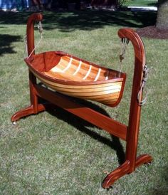Boat cradle! Wonder if we could make a bigger size for a hammock? Would be nice for keeping at a lakehouse!