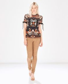 PARKER- Shannon Top Flare Top, Fit And Flare, Parker Ny, Peplum, Capri Pants, Sleeves, Tops, Fashion, Moda
