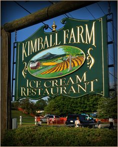 Kimball Farm in Jaffrey, NH...my favorite place to get a lobster roll and caramel cashew chip ice cream...better than Blue Bell!!