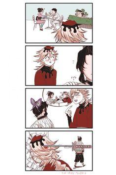 Anime Angel, Anime Demon, Manga Anime, Anime Art, Slayer Meme, Demon Slayer, Monster Hunter World, Cute Baby Cats, Seven Deadly Sins Anime