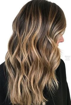 Caramel Balayage Money Piece Haircolor Formulas