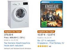 Amazon: Siemens iQ300 WM14N2A0 Waschmaschine für 379 Euro https://www.discountfan.de/artikel/technik_und_haushalt/amazon-siemens-iq300-wm14n2a0-waschmaschine-fuer-379-euro.php Mit einem Preisvorteil von 40 Euro ist jetzt bei Amazon die Siemens iQ300 WM14N2A0 Waschmaschine zu haben: Andere Onlineshops verlangen für das energiesparende Modell mindestens 419 Euro. Amazon: Siemens iQ300 WM14N2A0 Waschmaschine für 379 Euro (Bild: Amazon.de) Die Siemens iQ300 WM14N2A0 W... #W