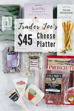 I'll show you just How To Make a Trader Joe's Cheese Platter. I've included how to choose your ingredients, how to arrange them, what kind of boards to use, and give two different price options. Charcuterie And Cheese Board, Charcuterie Platter, Cheese Boards, Meat Cheese Platters, Snack Platter, Trader Joe's Wine, Trader Joes Food, Crescent Rolls, Appetizers For Party