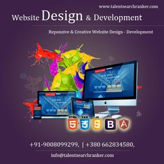 Responsive & Creative Website Design – Development For more info call +91-9008099299, +380 66 283 4580, +380 667719090 and Visit Our Website: www.talentsearchranker.com #WebsiteDesign&Development #WebsiteDesign #WebsiteDevelopment #ukraineWebsiteDesign Social Media Marketing Companies, Internet Marketing Company, Best Digital Marketing Company, Seo Company, Design Development, Website, Search, Internet Marketing Firm, Searching