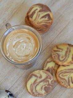 13 desserts, chacun: Sablés marbrés vanille-chocolat {Battle Food # 17}