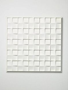 Jan Schoonhoven - Square relief, 3rd conception, 1967.