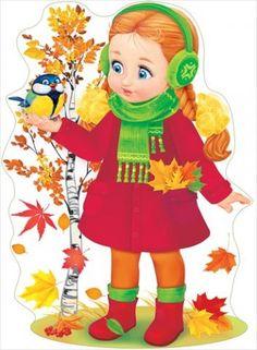 Cute little girl with red dress pieces) Cartoon Crazy, Cartoon Kids, Autumn Crafts, Autumn Art, Art Therapy Directives, Fall Clip Art, Autumn Activities For Kids, Autumn Illustration, Human Drawing