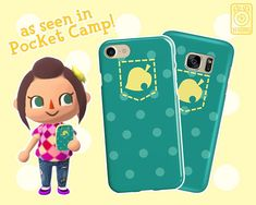 Pocket Camp PHONE CASE // iPhone & Samsung Galaxy Devices //