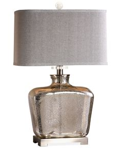 Uttermost Molinara Mercury Glass Table Lamp - Lighting & Lamps - For The Home - Macy's