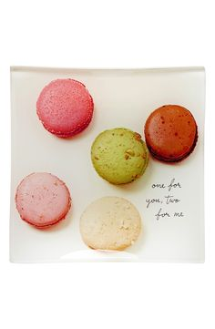 """When it comes to macarons, always! """"One for you, two for me"""""""
