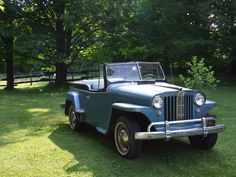 Willys Jeepster - Photo submitted by Barry Evans.