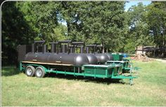Custom BBQ Pits, Custom Smokers and BBQ Trailers Texas
