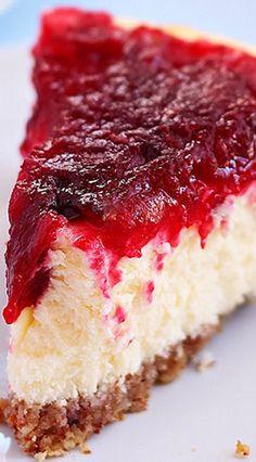Cranberry Cheesecake Recipe