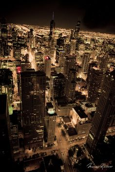 """Chicago / 23:16"", Magnificent View"