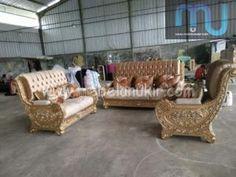 Kursi Sofa Ukiran Tebaru Murah Bali, Sofa, Couch, Outdoor Furniture Sets, Outdoor Decor, Minimalist, Blue And White, Luxury, Instagram Posts