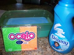 We've been using a TON of dryer sheets. More than I'd like to admit. The air in Reno is SO dry. I get shocked almost every time I touch something metal in our house. (I refuse to open o…