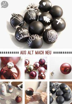Die besten 25 thematische weihnachtsb ume ideen auf pinterest wei e weihnachtsbaum - Alte weihnachtsbaumkugeln ...