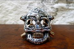 Expendables ring.  Made from the same masters and molds Josh used to make Sylvester Stallone's ring for the movie.  Get yours at goodart.com