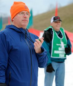 One of the great volunteers at the 2013 Winter Games.