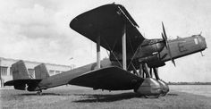 Handley-Page Heyford (1930) heavy bomber. Obsolete since introduction, produced until 1937, retired in 1939