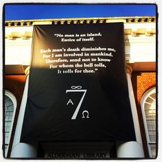 7 Society Banner, what an incredible symbol of our unity even in the darkest of times