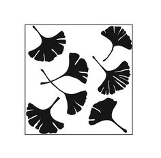 The Crafters Workshop Ginko Leaves Template - Overstock™ Shopping - Big Discounts on Templates & Stencils Sgraffito, Stencil Patterns, Stencil Designs, Leaf Stencil, Stencil Art, Leaf Template, Amazon Art, Zentangle, Paper Art