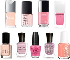 Lovely pink lacquers