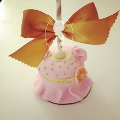 baby girl dress gourmet apple by ronisugarcreations