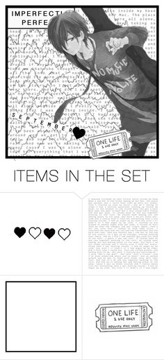 """Dedication Set // @living-in-a-world-of-madness"" by ryohoshigaki ❤ liked on Polyvore featuring art and InHeichouWeTrust"
