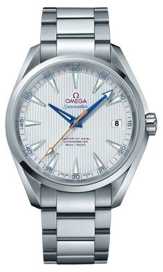 The @omegawatches Seamaster Aqua Terra Master Co-Axial contains an Omega Master Co-Axial caliber 8500 COSC-certified chronometer movement which is specially manufactured to resistant magnetic fields greater than 15,000 gauss.  #omega #watchtime #horology