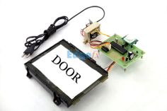 Movement Sensed Automatic Door Opening System.  The project is designed for automatic door opening system using PIR sensor. Opening and closing of doors is always a tedious job, especially in places like shopping malls, hotels and theatres where a person is always required to open the door for visitors.