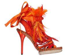 Zapatos Christian Dior Primavera/Verano 2011.