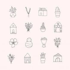 minimalist drawings drawing doodle doodles draw premium simple mano easy tattoo aesthetic journal unbedeutende eingestellt gekritzel gezeichnete mountain dibujados minimalistas
