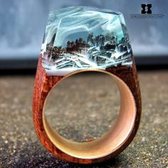 SX Wooden Creations® wood resin rings 💍 Winter 4 Two Resin Ring, Resin Jewelry, Diy Wedding Ring, Secret Wood Rings, Epoxy Resin Wood, Diy Resin Crafts, Resin Charms, Good Tutorials, Diy Rings