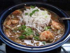 New Orleans Seafood Gumbo | Louanne's Kitchen