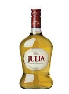 Grappa Julia. Aged in oak barrels.