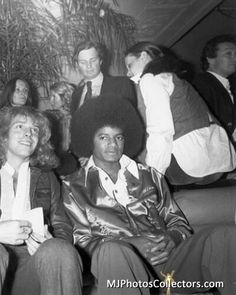 """Michael Jackson at Studio 54, March 1978. Germany 2014: Exhibition """"Excess In Black And White"""", photos by Tod Papageorge at the Gallery Thomas Zander, Cologne"""