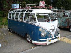 beautiful 21 window VW Bus