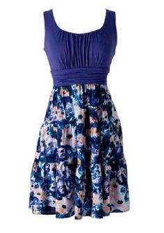 I love dresses that are plain on top with a cute print on the bottom. I also…