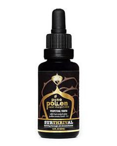 Surthrival Pine Pollen Gold 30 ml SURTHRIVAL Perpetual Youth Pine Pollen  The gold standard in nutrient-dense meta-foods.  Perpetual Youth Pine Pollen is the perfect foundation for elite nutrition. Harvested in the richest soil of Mongolia, this super-charged elixir contains over 200 bioactive nutrients, vitamins, and minerals that help unlock peak physical and mental health.