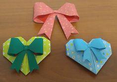 376.리본장식접기.사탕하트접기.오월의장미.origami.화이트데이선물