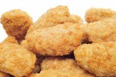 Baked Gluten Free Chicken Nuggets Recipe: http://glutenfreerecipebox.com/baked-gluten-free-chicken-nuggets/ #glutenfree