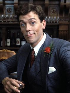 My dearest Hugh Laurie, for most it was House that made you a house hold name. Some might recognize you as that guy next to Rachel on the plane on Friends or even the bad guy in 101 Dalmatians. But as for me, Bertie Wooster is the man I fell in love with.