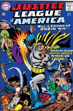 """JLA issue 53 from Aug 1967 is the first issue in volume 2 of """"Crisis on Multiple Earths"""""""